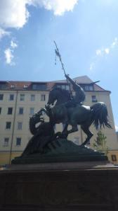 São Jorge alemão em Nikolaiviertel