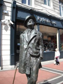 Dublin 8 - James Joyce Statue