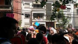 Samba de Rainha saudando o bloco João Capota na Alves