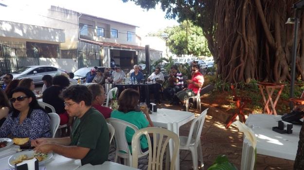 Chorinho dominical no Casarão Restaurante
