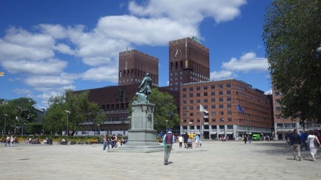 Plac Rådhusplassen, Havnepromenaden