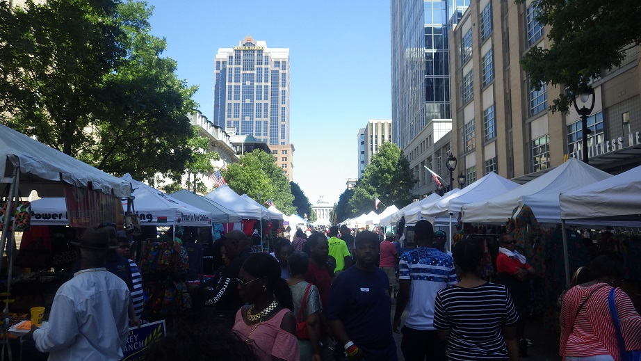 African American Cultural Festival, Downtown, Raleigh